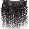 HJ Beauty 3 Bundles Brazilian Virgin Curly Human Hair Weft Deals Jerry Curly