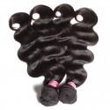 HJ Beauty Malaysian Hair Body Wave Virgin Human Hair Weaving 3 Bundles pack