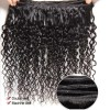 HJ Beauty Brazilian Curly Hair 13x4 Lace Frontal With Bundles 3 pcs pack