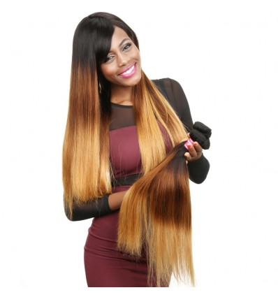 HJ Beauty Straight Human Hair 3 Bundles