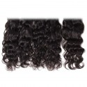 Malaysian Natural Wave 4 Bundles with Lace free Part Closure 7A Grade Virgin Human Hair Weaves HJ Beauty Hair
