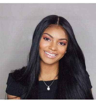 Peruvian Straight Hair 4 Bundles Pack 100% Virgin Human Hair Weave Deals HJ Beauty Hair