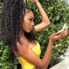 Brazilian Virgin Curly Hair 4x4*4 Lace Closure HJ Beauty Hair