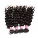 Indian Virgin Hair Deep Wave 4 Bundles Deals
