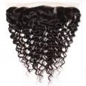 HJ Beauty Brazilian Deep Wave Frontal with 3 Bundles Virgin Human Hair