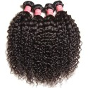 HJ Beauty Brazilian Curly Hair Free Part 13x4x4Bundles Curly Hair Bundles